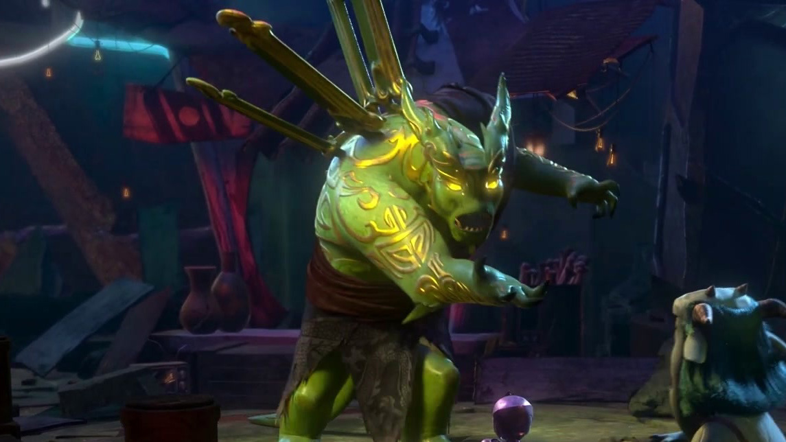 Trollhunters: Rise Of The Titans: The Secret Weapon: Gun Robot
