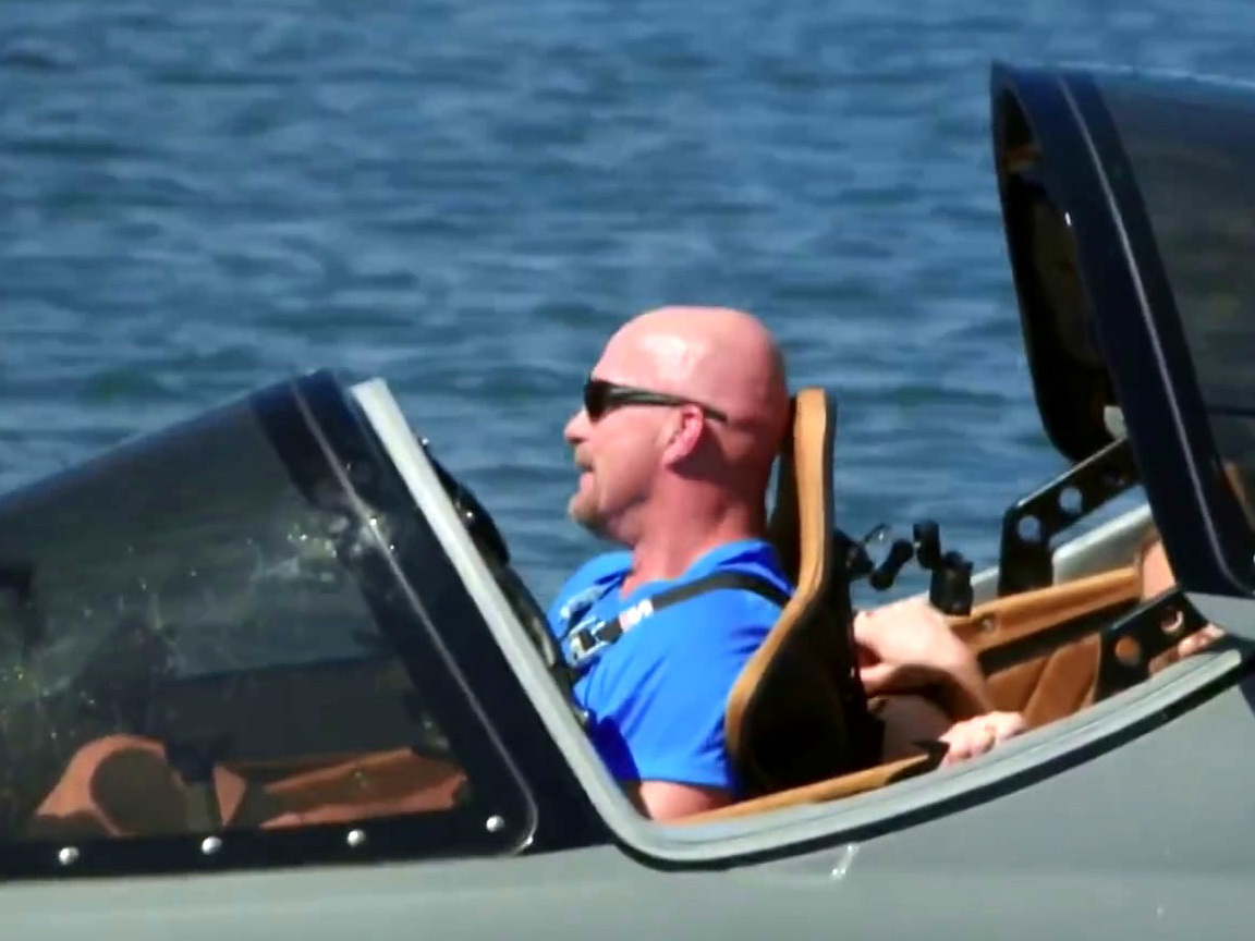 Straight Up Steve Austin: Steve Austin Joyrides In Dolphin Boat With Charlotte Flair