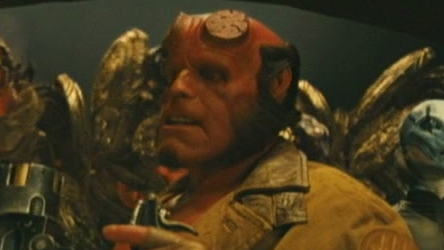 Hellboy 2: The Golden Army (Red Fight Golden Army)