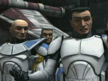 Star Wars: The Clone Wars (Ahsoka And The Troops)