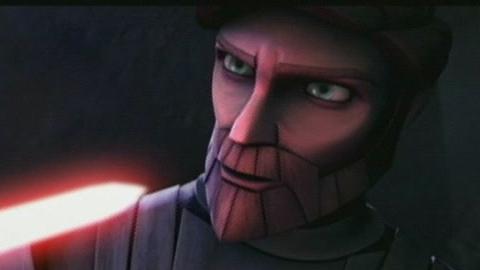 Star Wars: The Clone Wars (Obi-Wan Vs. Ventress)