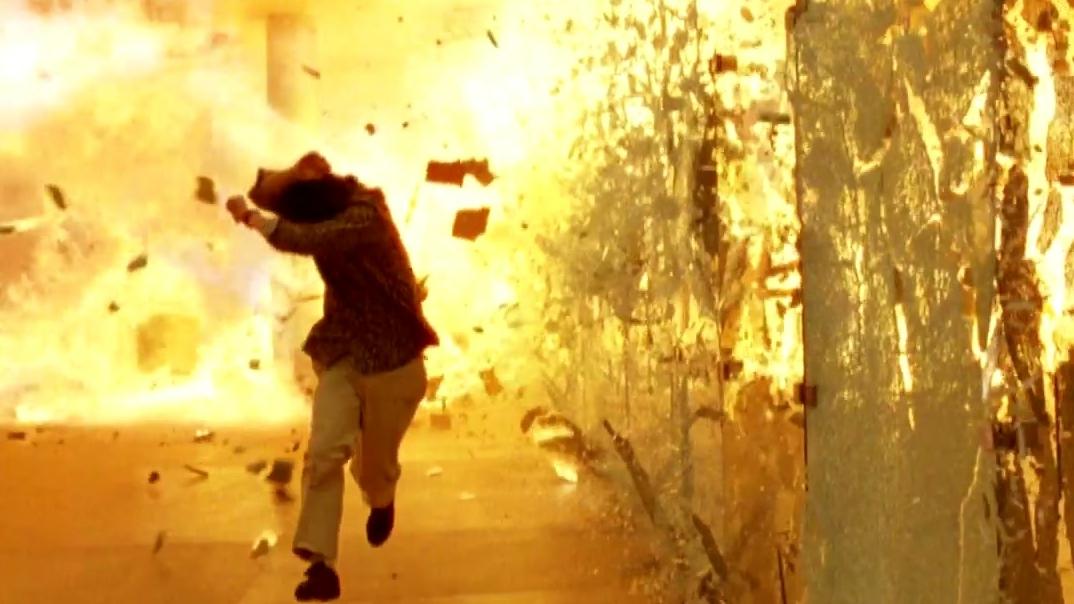Quantum Of Solace: Hotel Explosion Rev