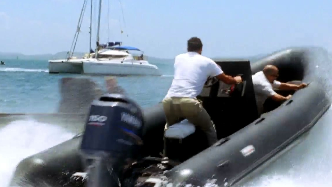 Quantum Of Solace: Boat Chase