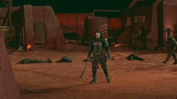 Ghosts Of Mars Scene: Leave Them