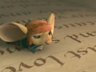The Tale Of Despereaux: Despereaux Is Caught Up In Reading The Book
