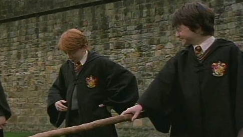 Harry Potter And The Sorcerer's Stone Scene: First Flying Lesson