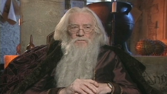 Harry Potter And The Sorcerer's Stone Soundbite: Richard Harris