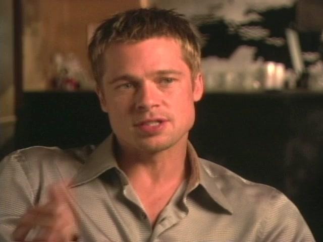Ocean's 11: Brad Pitt-On The Script