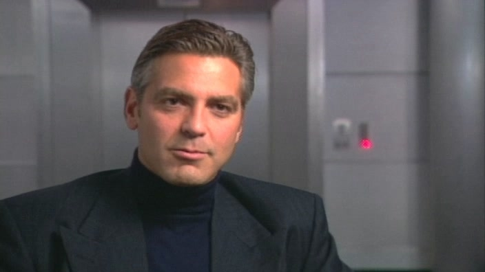 Ocean's 11: George Clooney-On Working With Julia Roberts