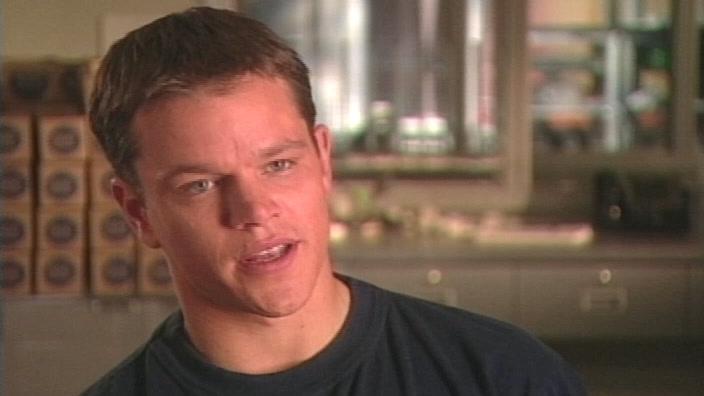 Ocean's 11: Matt Damon-On Being A Supporting Actor