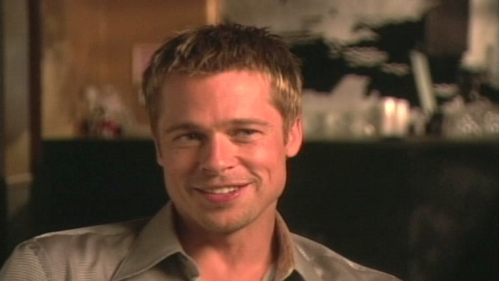 Ocean's 11: Brad Pitt-On The Movie And Off The Set