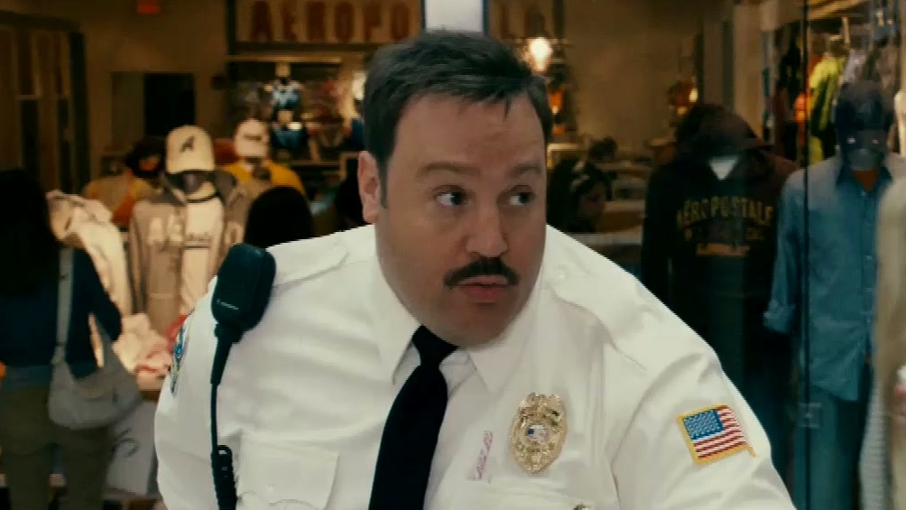 Paul Blart Mall Cop: The Mind Doesn't Need A Holster