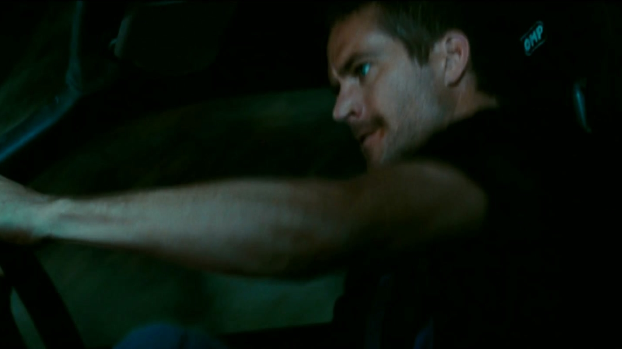 Fast & Furious: Brian Takes A Shortcut Going Down The Embankment