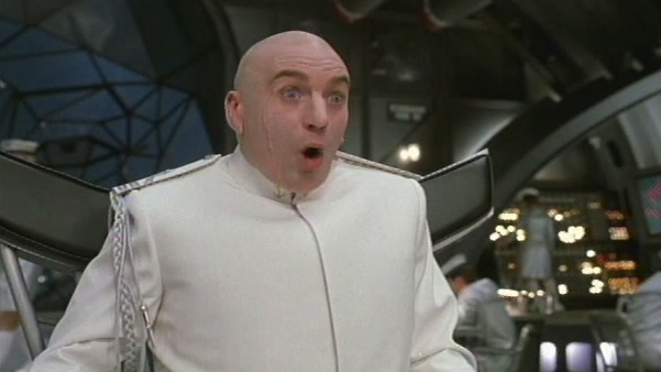 Austin Powers In Goldmember: Sharks And Lasers