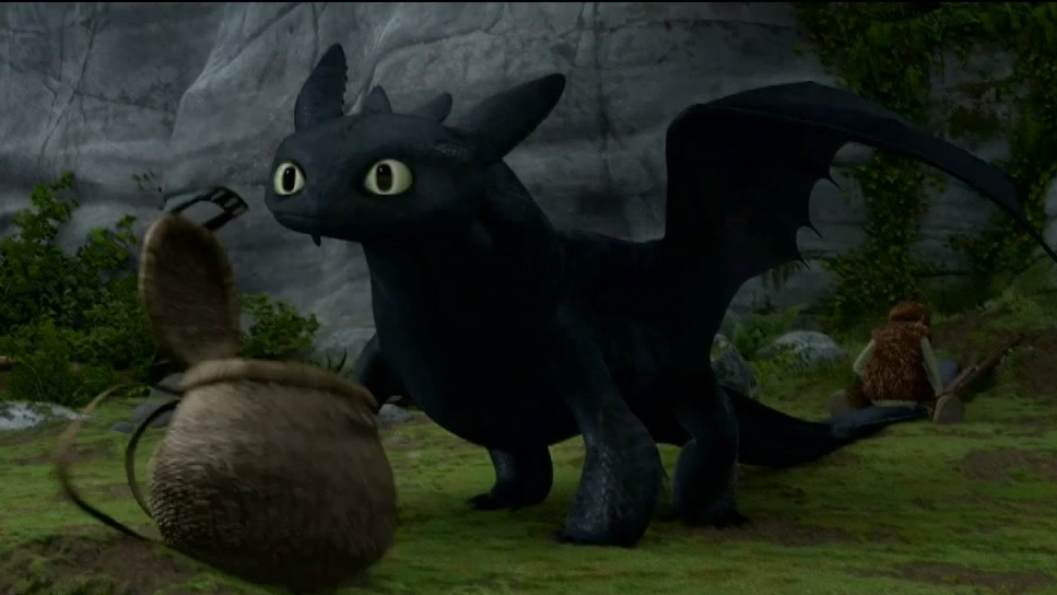 How To Train Your Dragon: Fixing Toothless Tail
