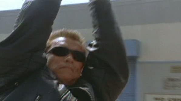 Terminator 3: Rise Of The Machines Scene: I'll Drive