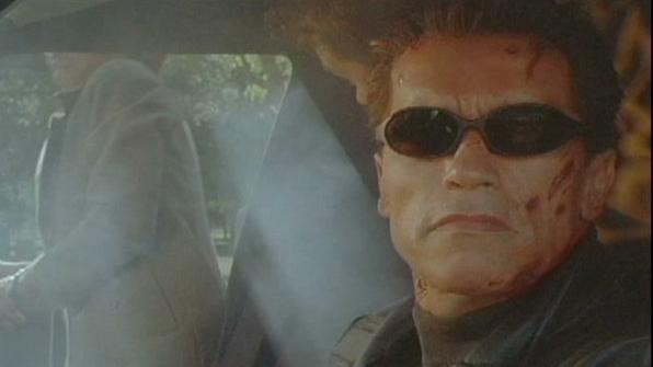 Terminator 3: Rise Of The Machines Scene: Hearse Chase