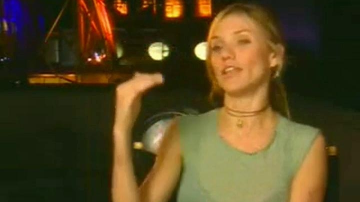 Charlie's Angels Full Throttle Soundbites: Cameron Diaz