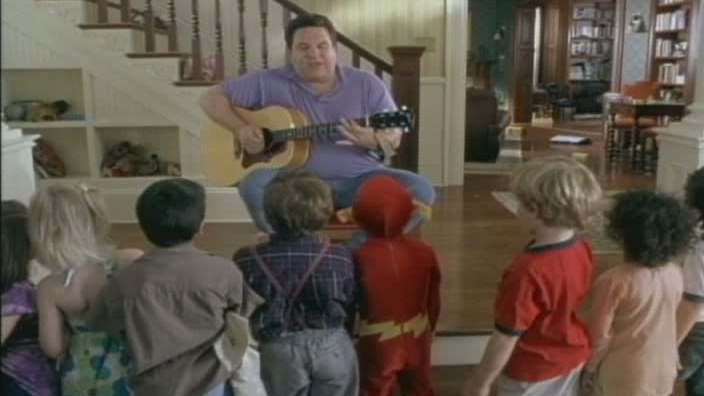 Daddy Day Care Scene: Big Phil With A Guitar