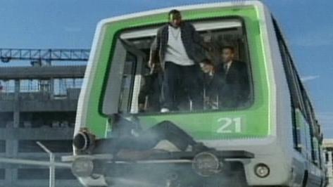 Bad Boys II Scene: Monorail Chase