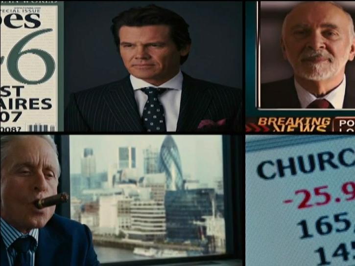 Wall Street: Money Never Sleeps (Financial News Clip 2)