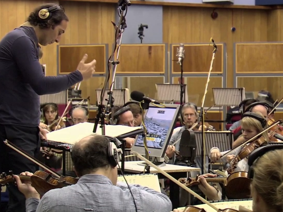 Harry Potter And The Deathly Hallows-Part 1 (Behind The Scenes Making Of The Soundtrack)