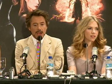 Iron Man 2: Press Conference