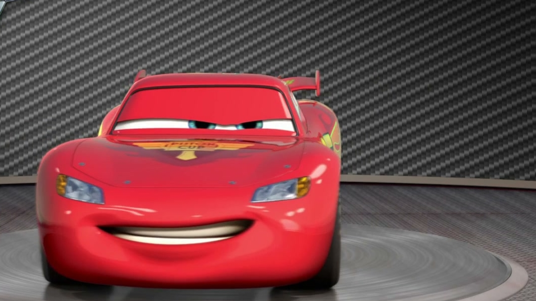 Cars 2: Turntable Lightning Mcqueen