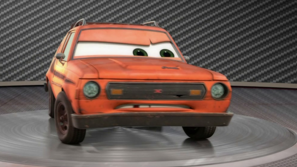 Cars 2: Showroom Turntable Grem