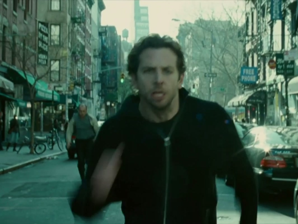 Limitless: Tan Coat Phone Call