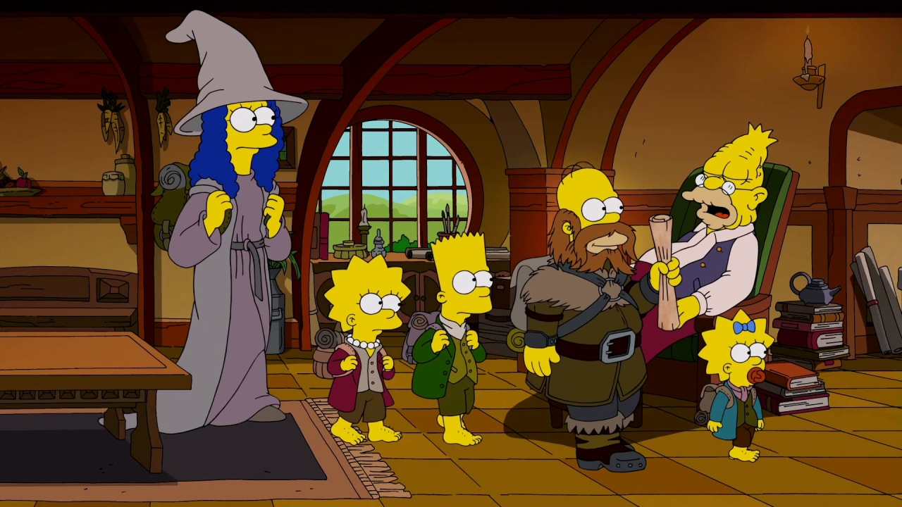 The Simpsons Season 29 Episode 1 The Serfsons Metacritic