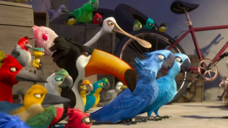 Rio: Birds Vs. Monkeys