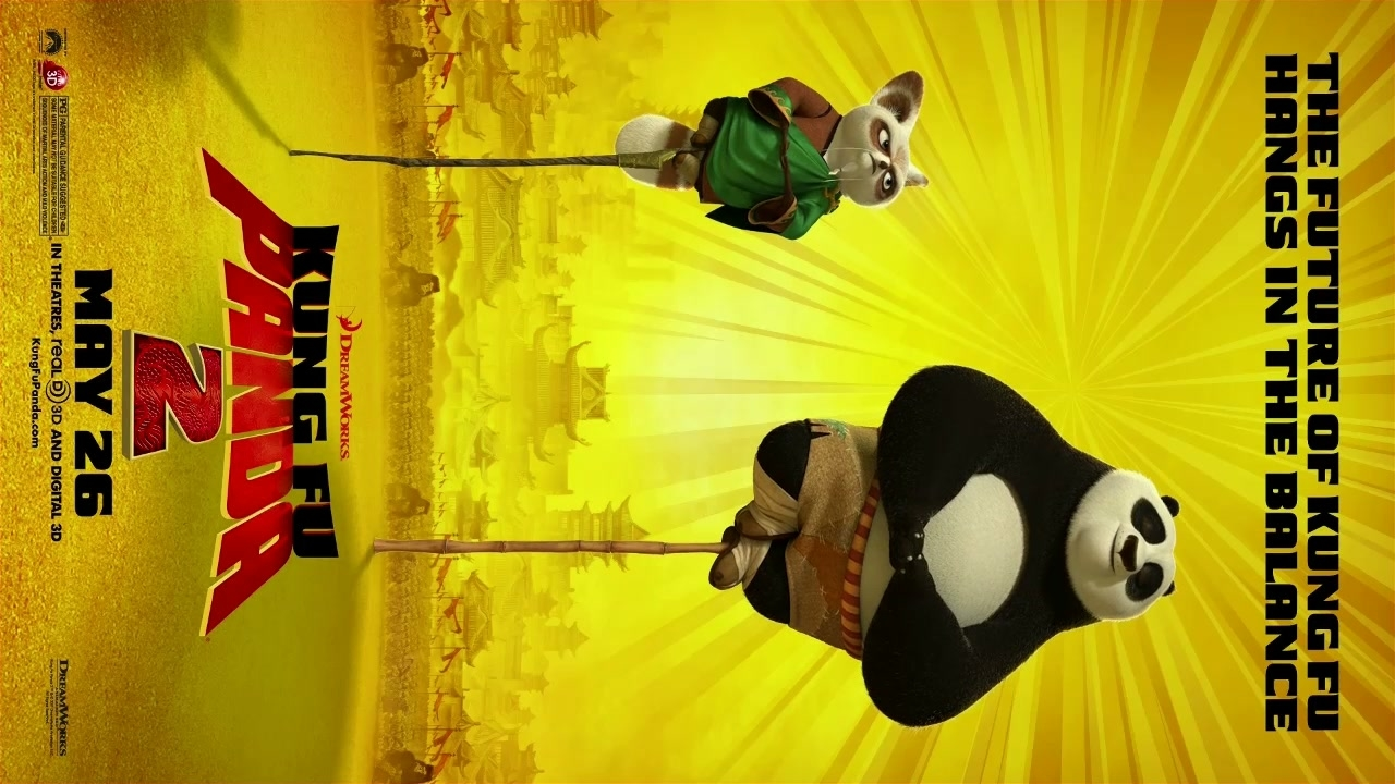 Kung Fu Panda 2: Vertical Motion Poster