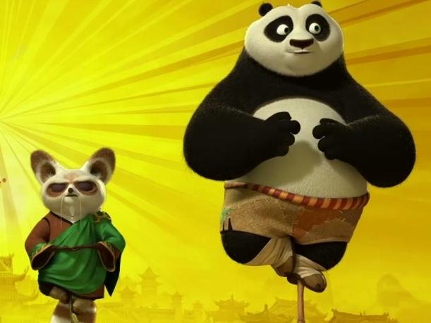 Kung Fu Panda 2: Horizontal Motion Poster