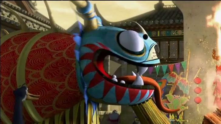 Kung Fu Panda 2: Chinese Dragon