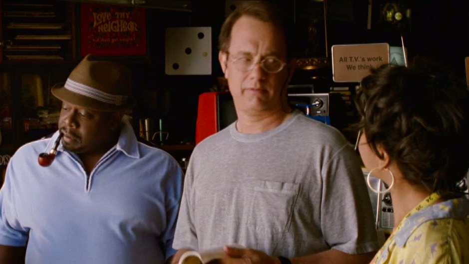 Larry Crowne: Lamar Tries To Sell Larry A College Course Schedule