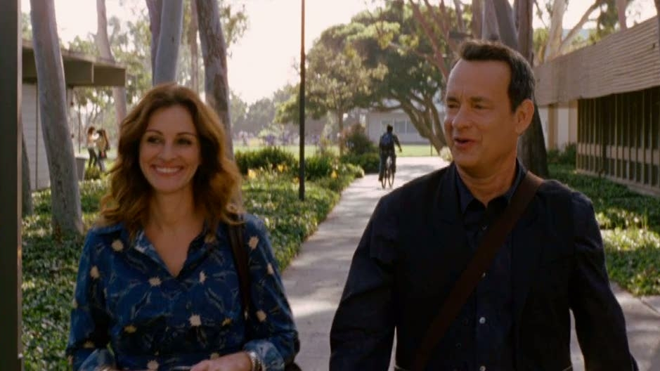 Larry Crowne: Mrs. Tainot And Larry Talk About Their Secret