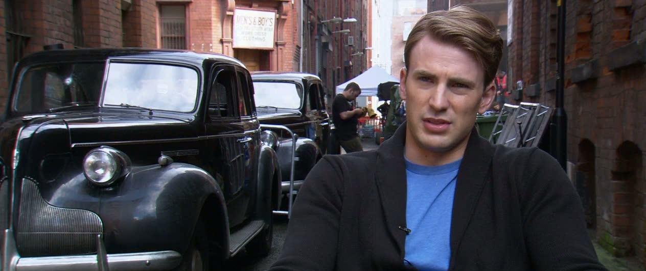 Captain America: The First Avenger (Chris Evans-On Director Joe Johnston)