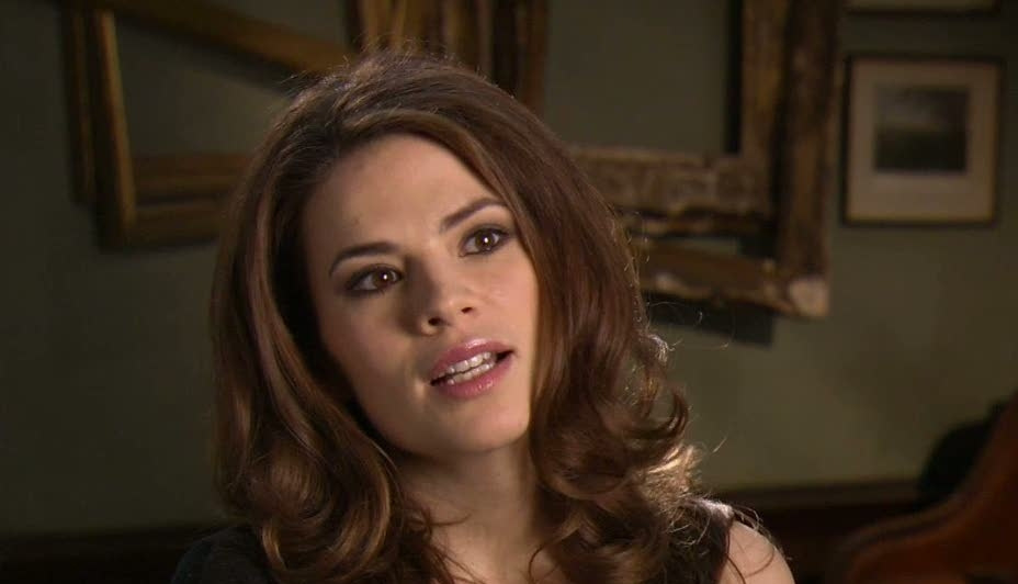 Captain America: The First Avenger (Hayley Atwell On Her Character Peggy)