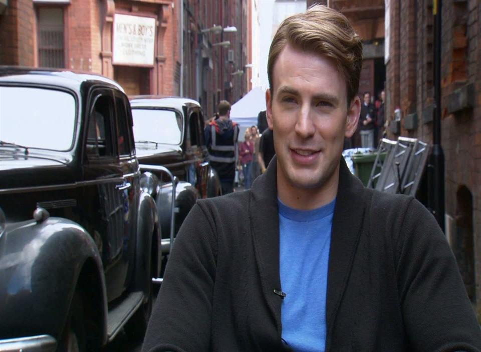Captain America: The First Avenger (Chris Evans-On The Rabid Fan Base)