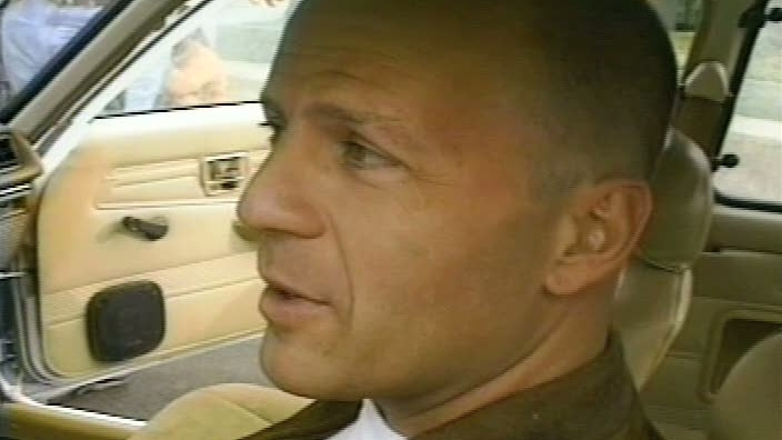 Pulp Fiction: Tarantino Directing Bruce Willis