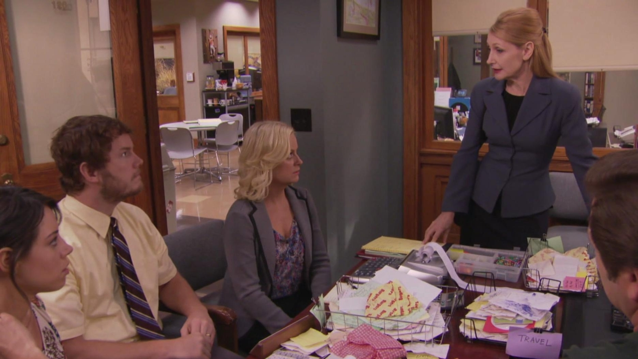 Parks And Recreation: Ron & Tammys