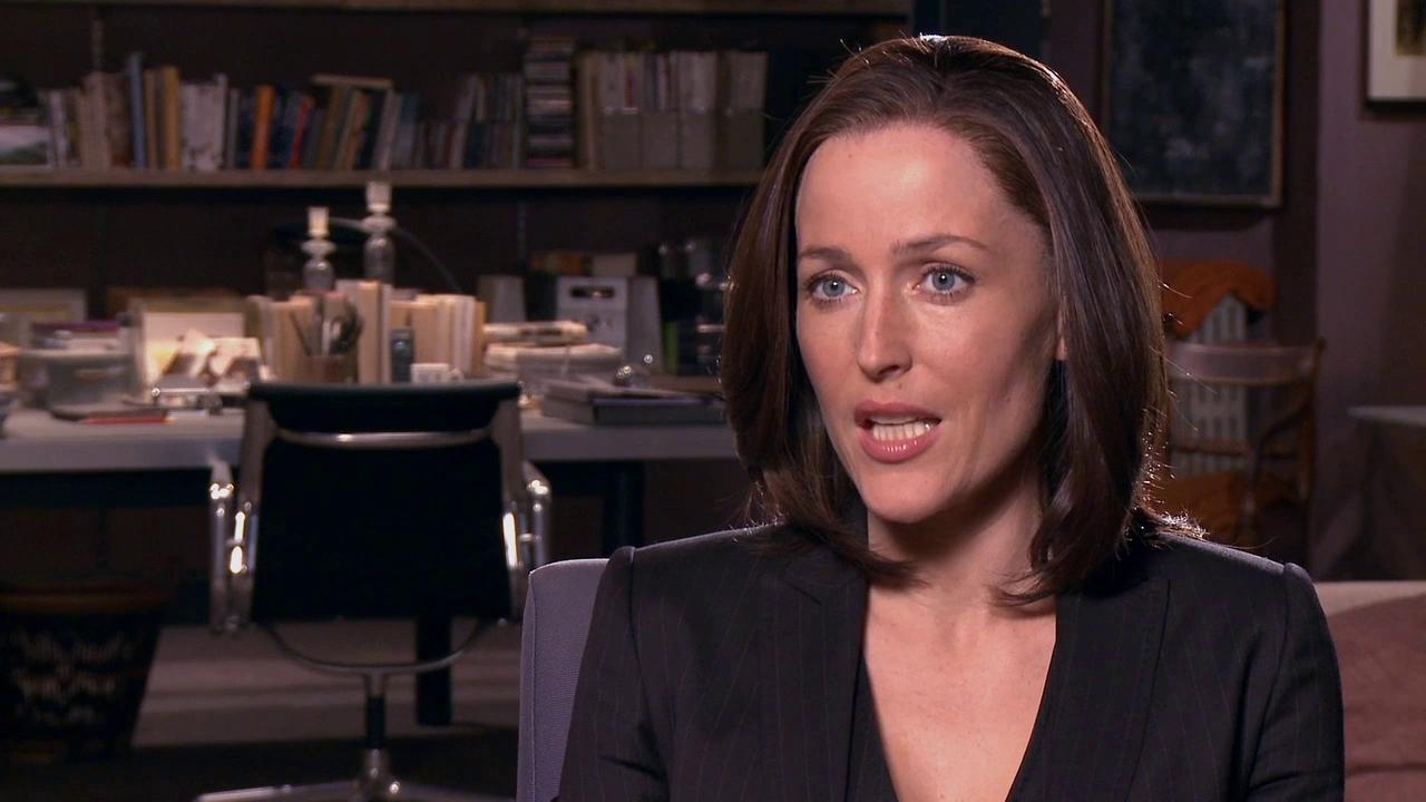 Johnny English Reborn: Gillian Anderson On Her Character