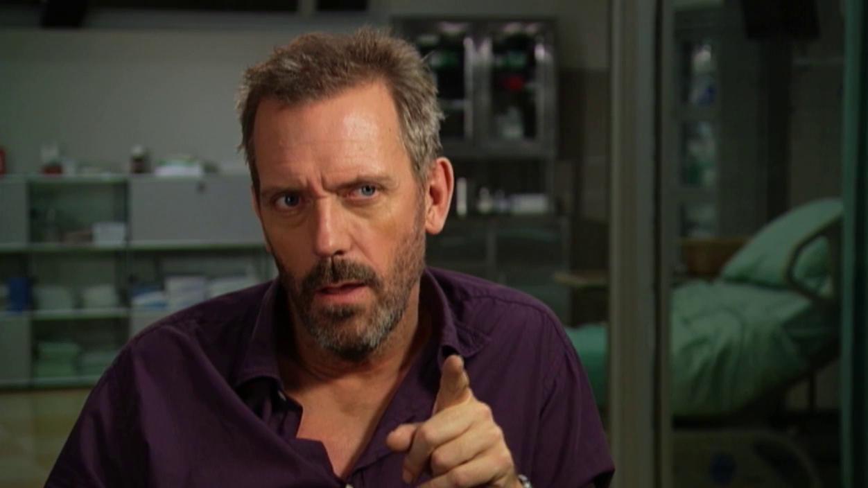 House M.D.: Hugh Laurie Interview