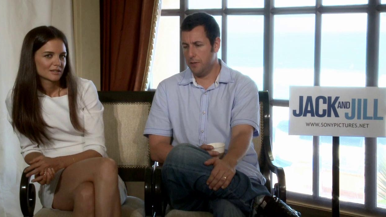 Jack And Jill: Adam Sandler And Katie Holmes On The Story