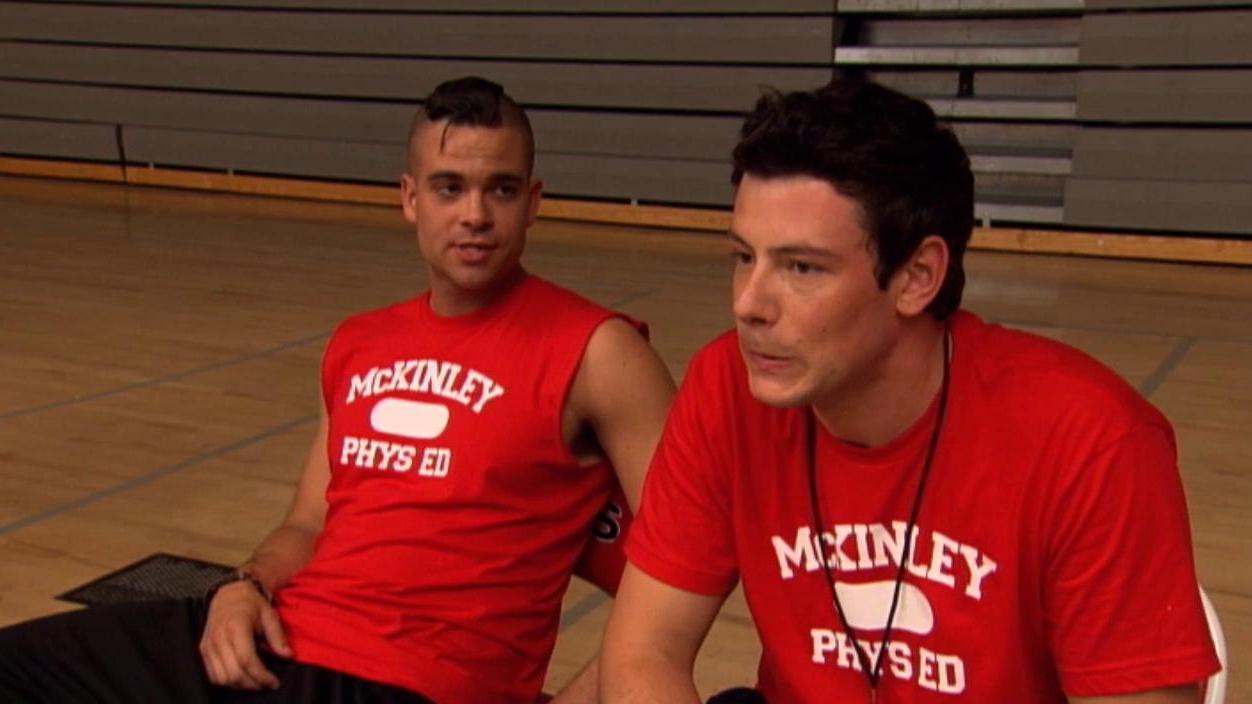 Glee: Behind The Dodgeball