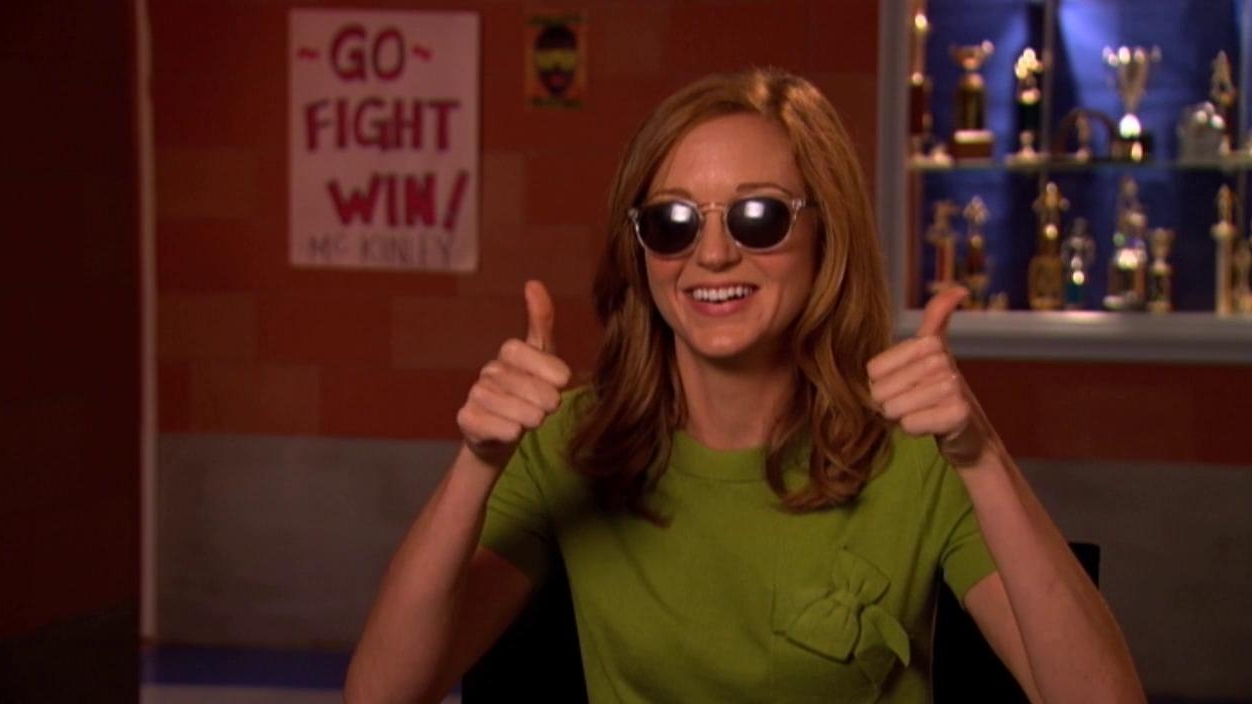 Glee: A Moment Of Glee With Jayma Mays