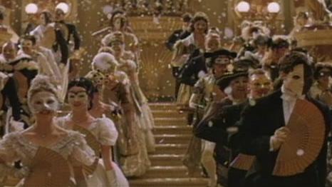 The Phantom Of The Opera Scene: Enter The Phantom