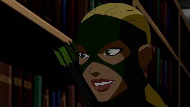 Young Justice: Bookcase