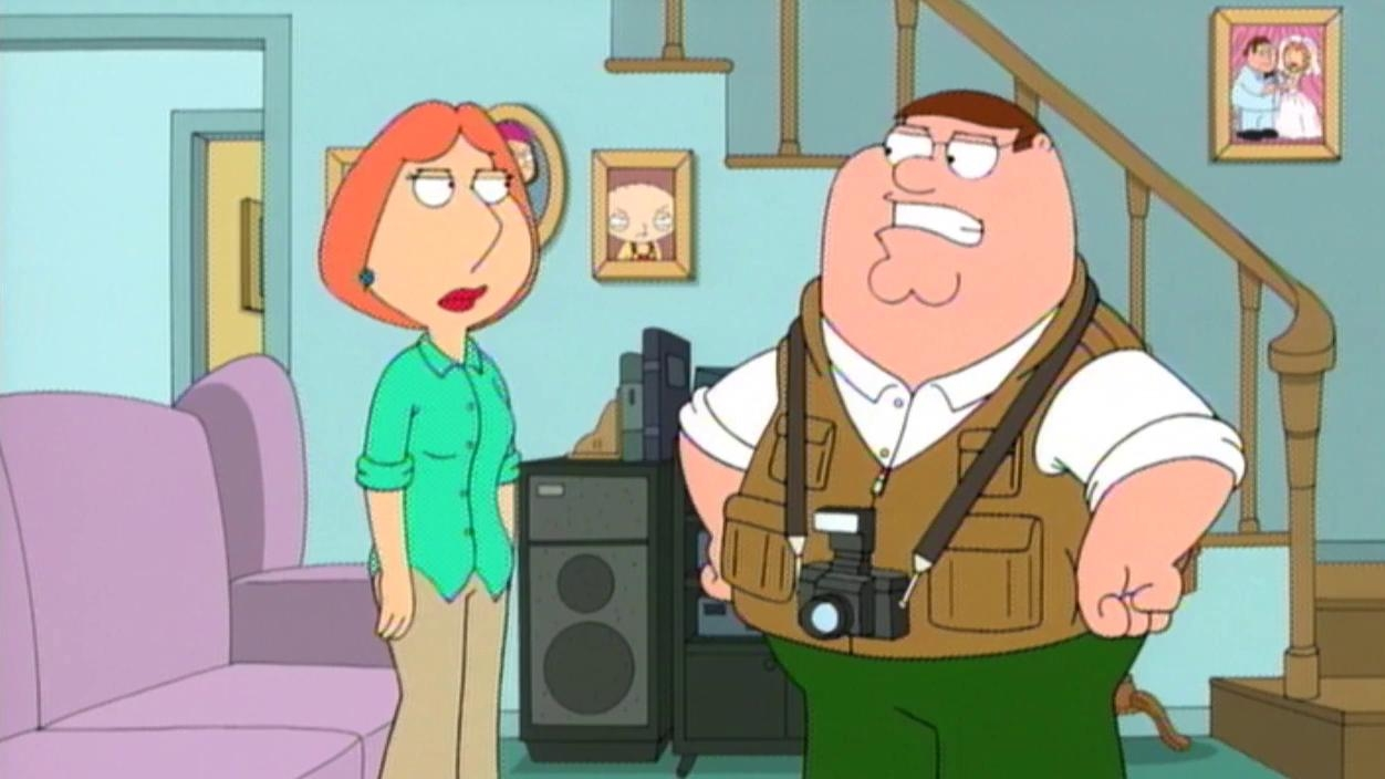 Family Guy: You Can't Do That On Television, Peter